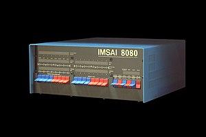 IMSAI 8080 - Image: IMSAI 8080 IMG 1477