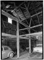 INTERIOR FRAMING - John Nelson Barn, Great North Road (State Route 2A), Lincoln, Middlesex County, MA HABS MASS,9-LIN,12-2.tif