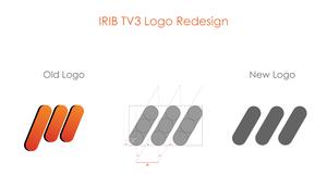 IRIB TV3 Logo redesign
