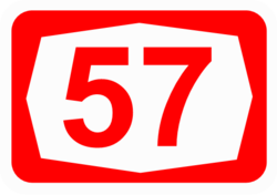 57 >> Highway 57 Israel Wikipedia