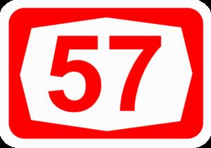 Highway 57 (Israel) - Image: ISR HW57