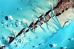 ISS-44 The Bahamas - Tidal flats and channels.jpg