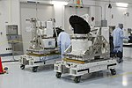 ISS-RapidScat in the Space Station Processing Facility (KSC-2014-2521).jpg