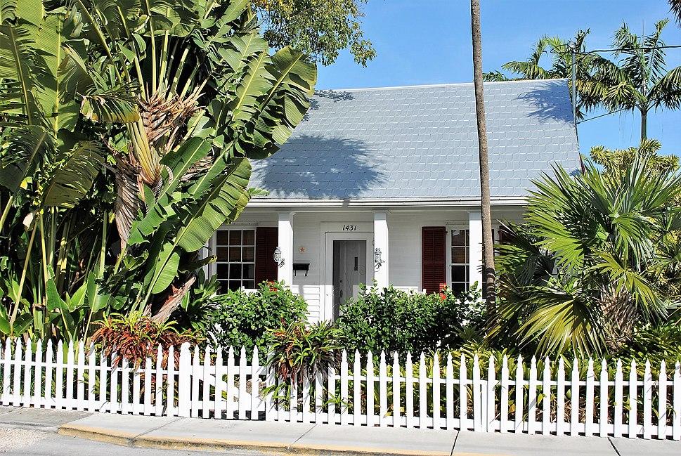 I Tennessee Williams House, Key West, FL, USA
