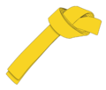 Ichf yellow belt 9th Gup large.png