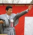 Ichiro Matsui Governor of Osaka Prefecture in Narita-san - Neyagawa Osaka 2014.jpg