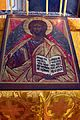 Icon of Christ Pantocrator in Saint Nicholas Russian Orthodox Church, Juneau, Alaska.jpg