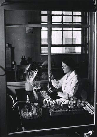 National Institutes of Health - Ida A. Bengtson, a bacteriologist who in 1916 was the first woman hired to work in the Hygienic Laboratory.