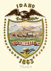 Idaho territory coat of arms (illustrated, 1876).jpg