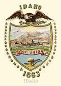 Stemma del territorio dell'Idaho