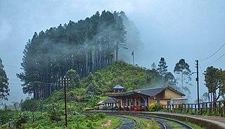 Idalgashinna railway station Railway station in Sri Lanka