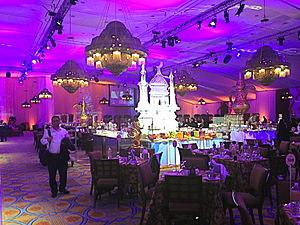Iftar - A 2016 Iftar buffet in a hotel in Riyadh
