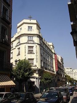 Sede de la Iglesia de la Cienciología en Madrid (España).