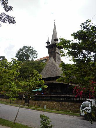 Church of St. Constantine and Helena (Caracas) - Image: Iglesia San Constantino y Santa Elena 2013 001