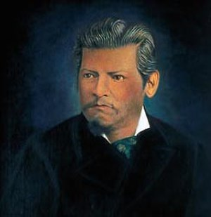 Guerrero - Ignacio Manuel Altamirano, born in Tixtla (Guerrero), liberal politician, writer