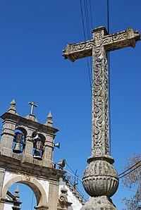 Igreja de São Vincente da Galafura, campanário e cruzeiro 1.jpg
