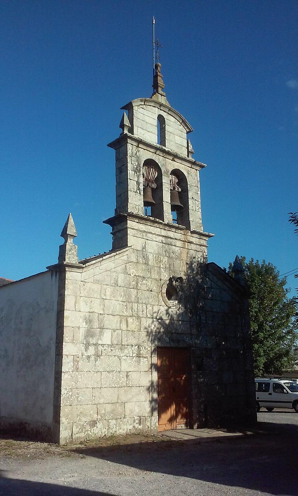 Igrexa de Árbol, Vilalba (vista frontal)