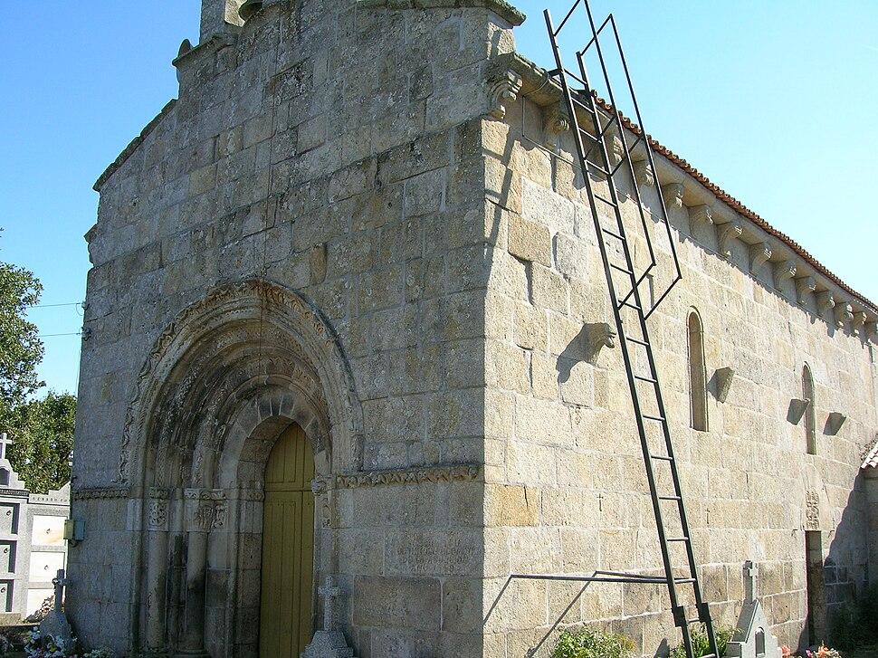 Igrexa de Santa María de Zos. Trasmiras, Galiza