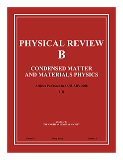 <i>Physical Review B</i> journal