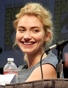 Imogen Poots på San Diego Comic-Con International 2011.