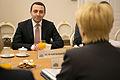 Ināra Mūrniece tiekas ar Gruzijas premjerministru.jpg