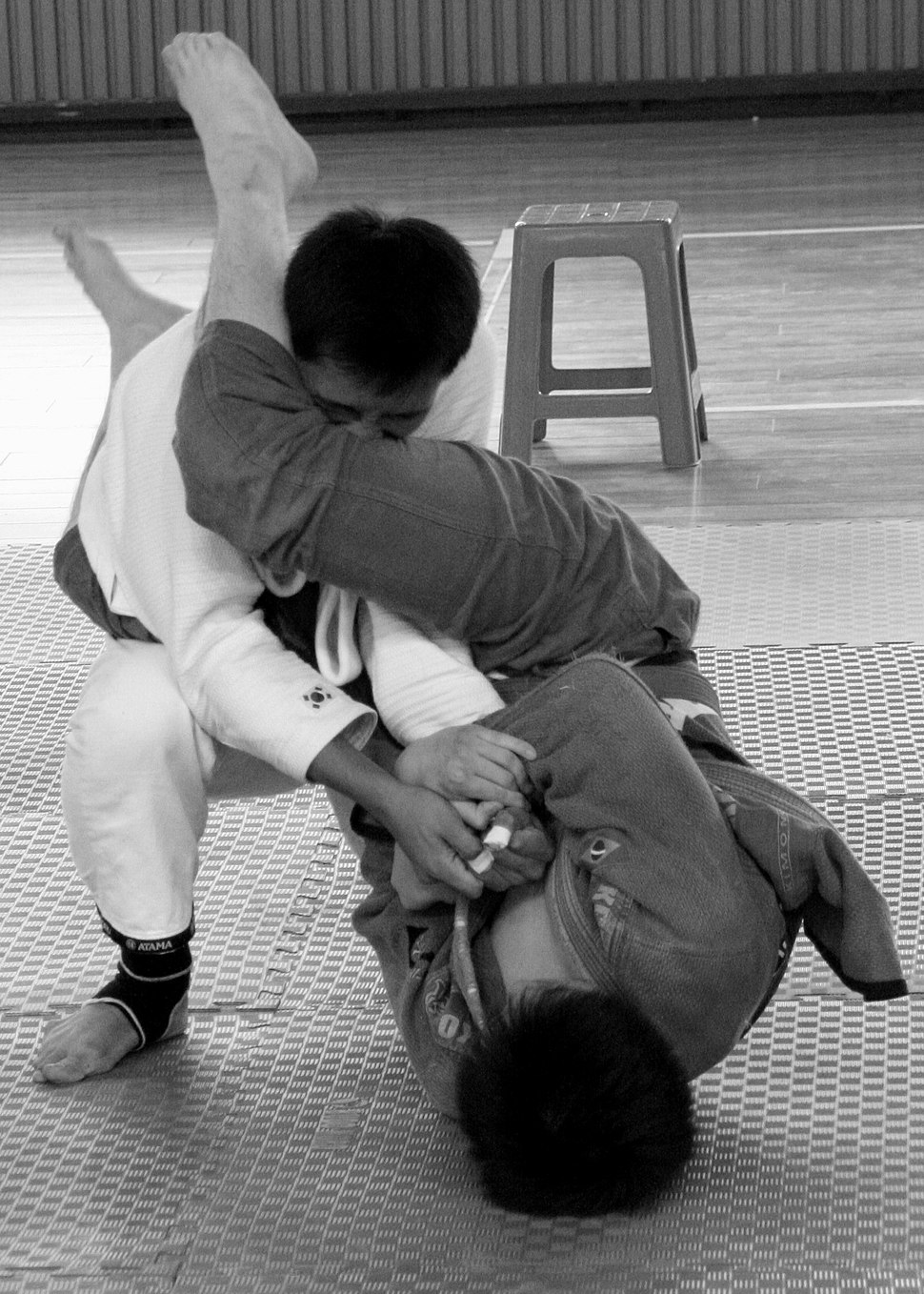 In-guard armbar