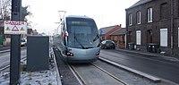 Inauguration de la branche vers Vieux-Condé de la ligne B du tramway de Valenciennes le 13 décembre 2013 (013).JPG