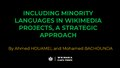 Including minority languages in Wikimedia projects, a strategic approach.pdf