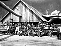 Index Galena Co workers posed ouside of large building, index, ca 1913 (PICKETT 268).jpeg