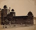 India; the L̀ahore Gate of the Palace'. Photograph by F Wellcome V0037558.jpg