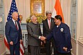 Indian Prime Minister Modi Greets Chef Sunderam of Rasika who Prepared the Luncheon.jpg