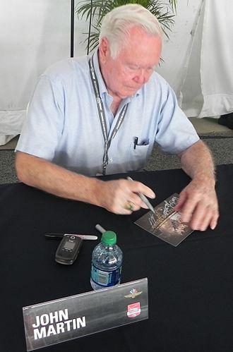 John Martin (American racing driver) - Martin at the 2014 Indianapolis 500.