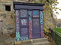 Indyref aye painted police box at flodden wall.jpg