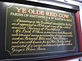 Information board about Ye Olde Red Cow pub - geograph.org.uk - 1127950.jpg