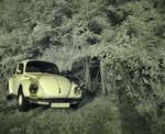 Um VW 1303LS da Turquia (foto infravermelha)