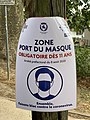 Inscription Zone Masque Obligatoire Allée Moulin Corbeaux - Saint-Maurice (FR94) - 2020-08-24 - 2.jpg
