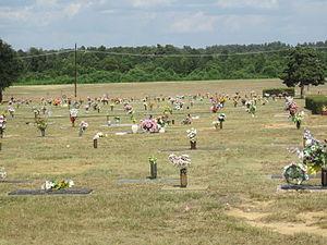 Gardens of Memory Cemetery (Minden, Louisiana) - Inside Gardens of Memory