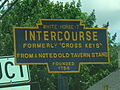 Intercourse, PA Keystone Marker Route 772 crop.jpg