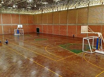 Interior del gimnasio de LUZ - N%C3%BAcleo Punto Fijo