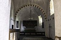Interior do coro da igrexa de Anga.jpg