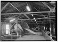 Interior view, top level, looking north. - Great Northern Elevator, 250 Ganson Street, Buffalo, Erie County, NY HAER NY,15-BUF,32-5.tif