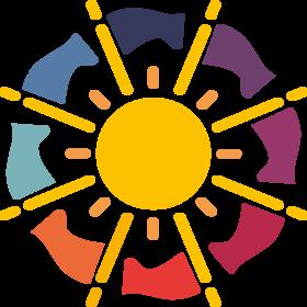 le logo de l'année internationale de la lumière