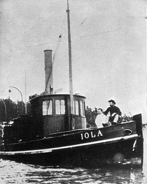 Iola (steamboat 1885) - Image: Iola (steamboat 1885)