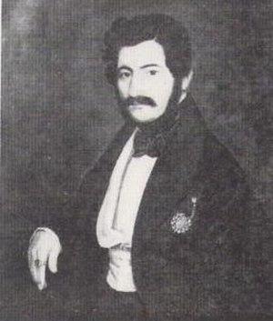 Ioan Manu - Portrait of Iancu Manu  by Ion Negulici.
