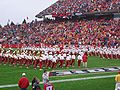 Iowa State band at halftime 2007 vs Texas.jpg