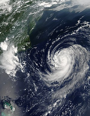 Hurricane Irene (2005) - Tropical Storm Irene off the United States East Coast on August 14