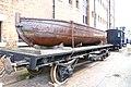 Iron Boat on a Railway Truck National Waterways Museum, Gloucester.jpg