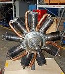 Isotta Fraschini Aero Engine, Imperial War Museum, Duxford, May 19th 2018. (45764555805).jpg
