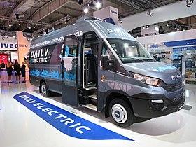 minibus iveco daily electrique fiia 2016