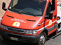 Iveco Daily fire engine of the Vatican Fire station.jpg